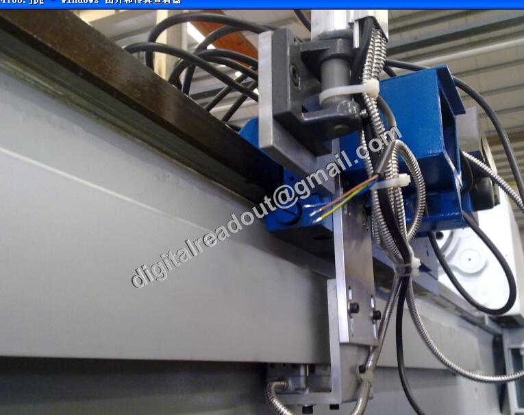 optical glass scales installation